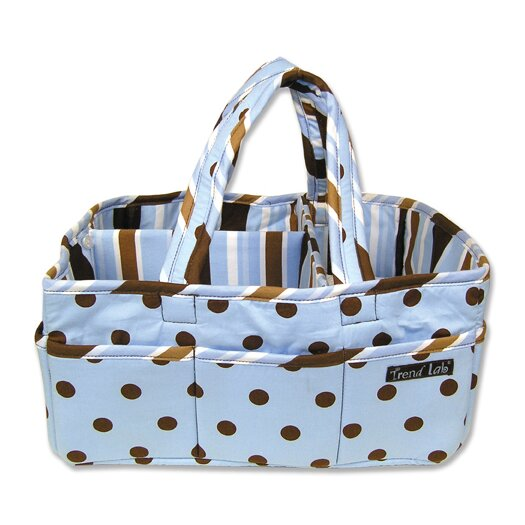 Trend Lab Storage or Diaper Caddy in Max Dot
