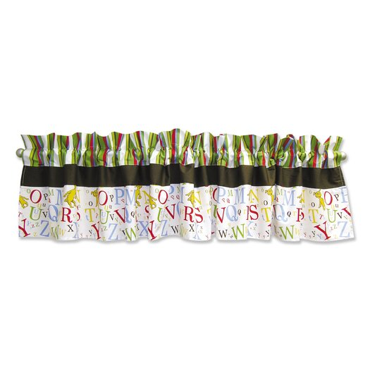 "Trend Lab Dr. Seuss ABC 82"" Curtain Valance"
