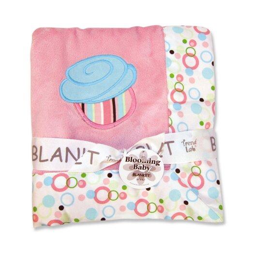 Trend Lab Cupcake Framed Receiving Blanket