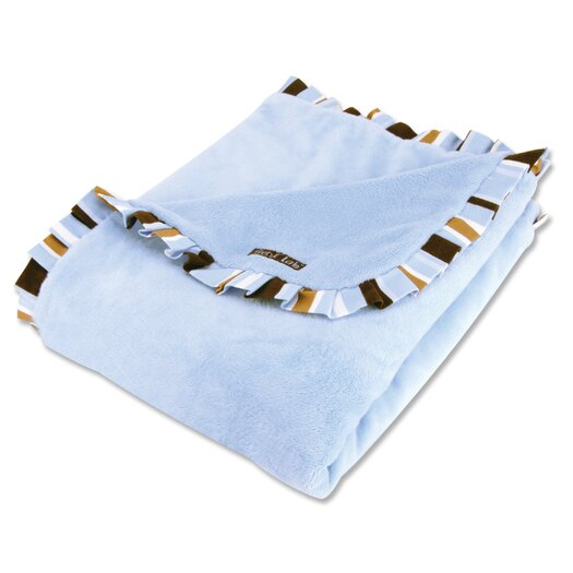 Trend Lab Max Velour Baby Blanket