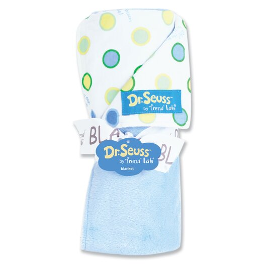 Trend Lab Dr. Seuss Oh The Places You''ll Go Receiving Blanket