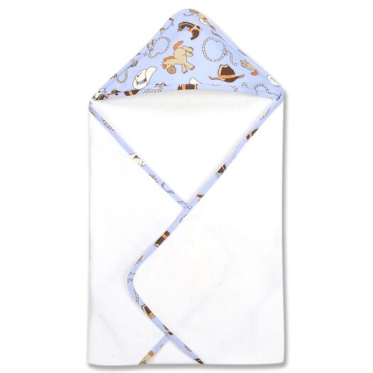 Trend Lab Cowboy Bouquet Hooded Towel