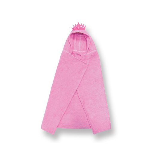 Trend Lab Terry Velour Pink Princess Hooded Towel