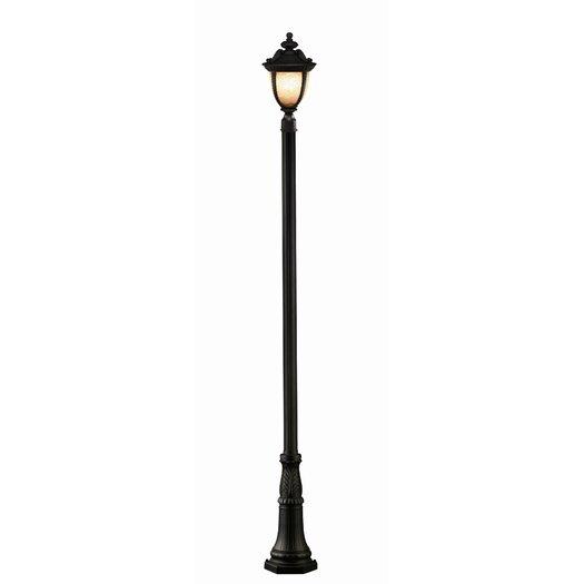 "Z-Lite Winchester 3 Light 114"" Outdoor Post Lantern Set"