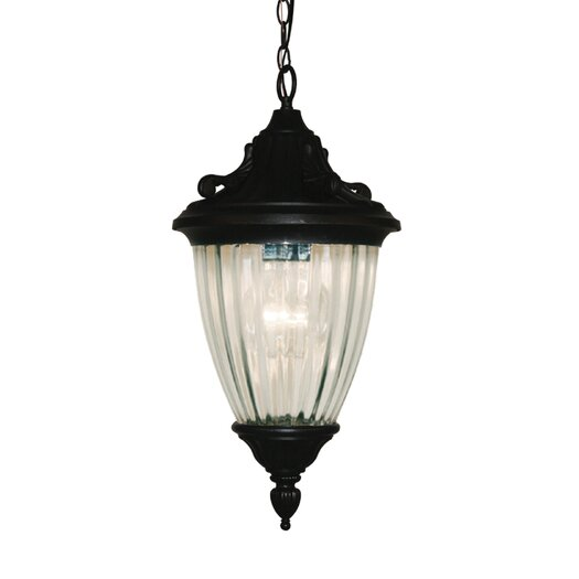 Z-Lite Waterloo 3 Light Outdoor Chain Light