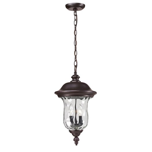 Z-Lite Armstrong 2 Light Outdoor Pendant