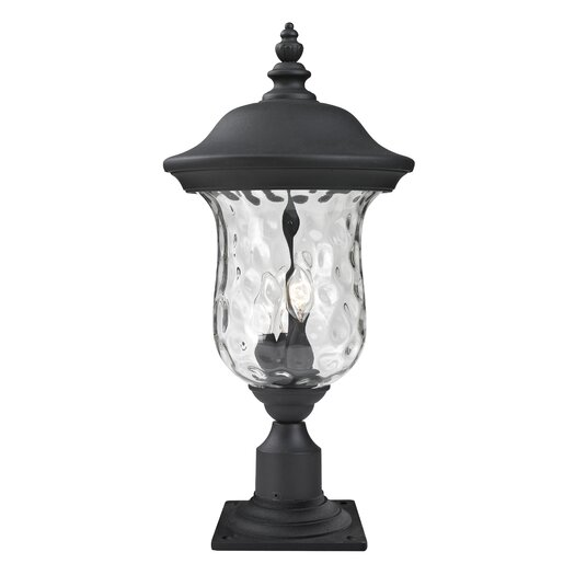 Z-Lite Armstrong 3 Light Outdoor Post Lantern