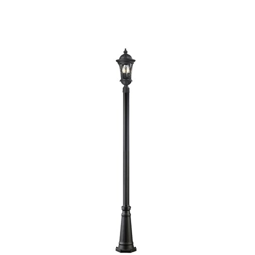 Z-Lite Doma 5 Light Outdoor Post Lantern Set