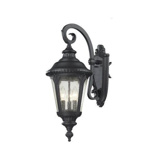 Z-Lite Medow 3 Light Outdoor Wall Lantern