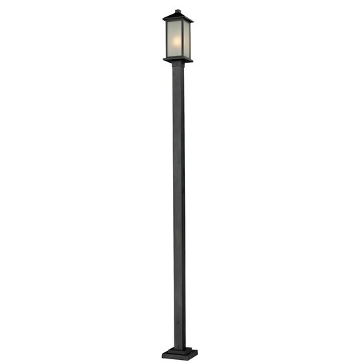 Z-Lite Vienna 1 Light Outdoor Post Lantern Set