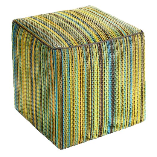 Fab Rugs World Cancun Pouf Ottoman