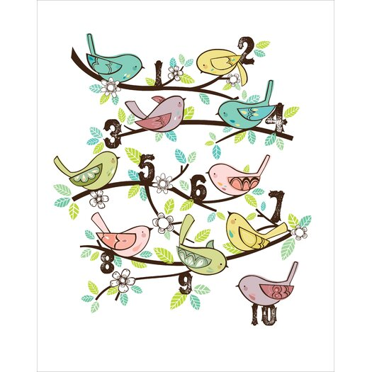 Luca and Company Artwork-123 Birds Canvas Art
