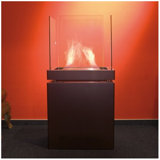 Radius Design Semi Flame Ethanol Fireplace