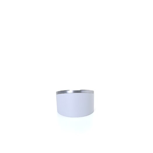 """Bai Design 3.5"""" Blanco Executive Alarm Clock"""