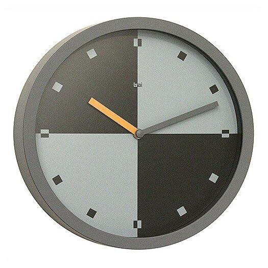 """Bai Design 10"""" Quadro Modern Wall Clock"""