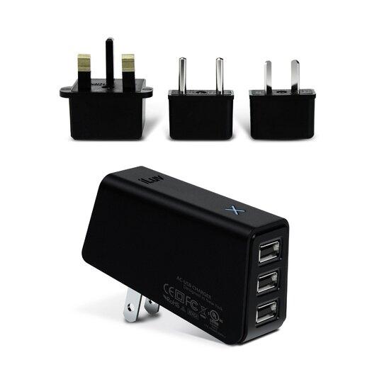 iLuv Triple USB AC Adapter