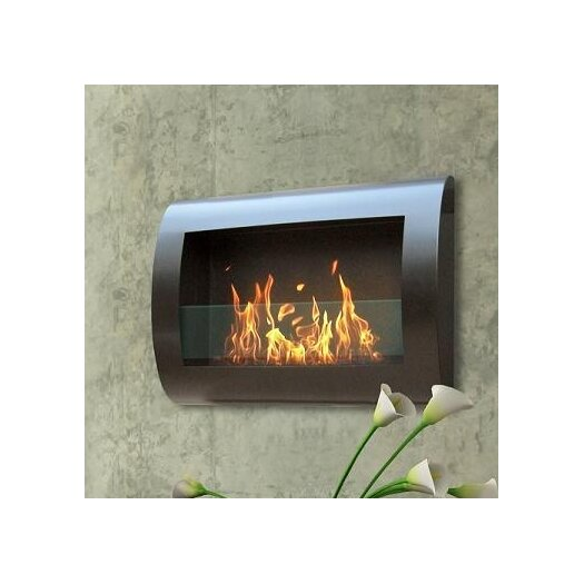 Anywhere Fireplaces Chelsea Wall Mount Bio Ethanol Fireplace Allmodern