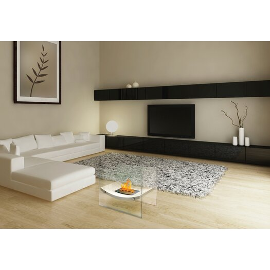 Anywhere Fireplaces Glass Bio-Ethanol Fireplace Table