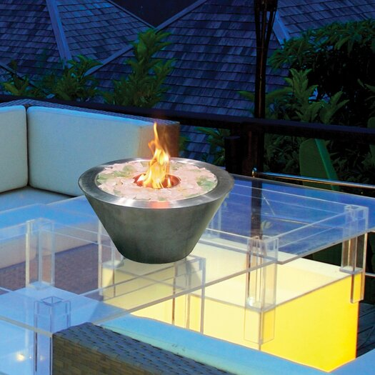 Anywhere Fireplaces Anywhere Fireplaces Glass Gel Table Top Fireplace