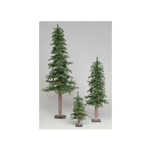 Vickerman Co. Alpine Tree 6' Green Pine Artificial Christmas Tree with Stand