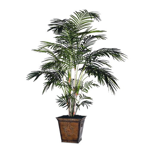 Vickerman Co. Deluxe Extra Tropical Palm Tree in Pot