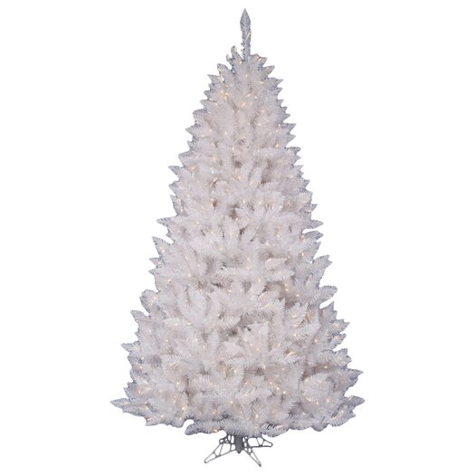Vickerman Co. White Spruce 4.5' Artificial Christmas Tree with 180 LED White Lights