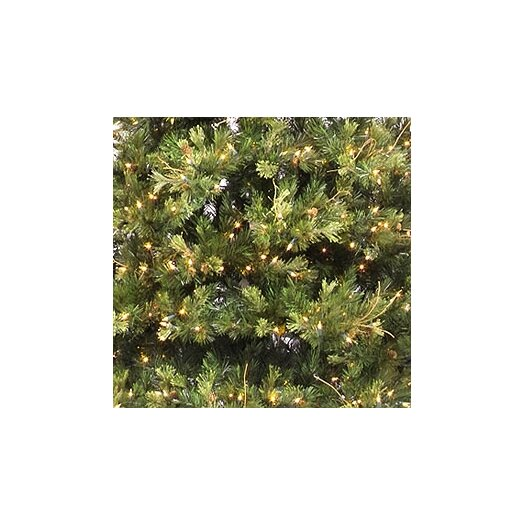 Vickerman Co. Country Pine 9' Green Slim Pine Artificial Christmas Tree with 950 Pre-Lit Clear Lights with Stand