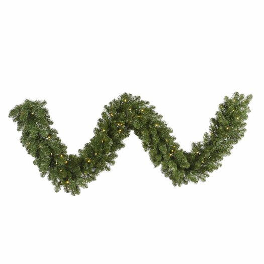 Vickerman Co. Grand Teton Garland with 100 LED Lights