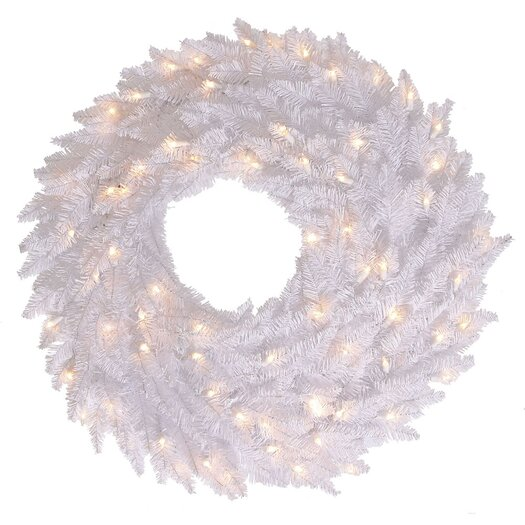 Vickerman Co. Fir Wreath with 70 Lights