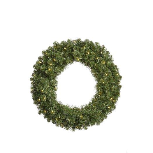 Vickerman Co. Grand Teton Wreath with 200 Dura-Lit Lights