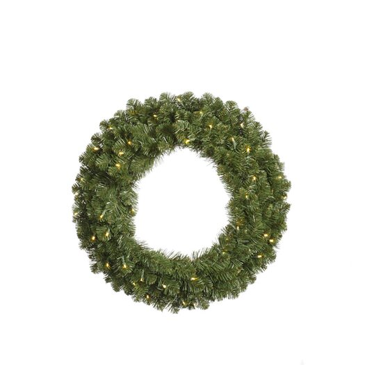 Vickerman Co. Grand Teton Wreath with 400 Dura-Lit Lights
