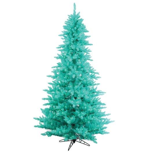 Vickerman Co. 9' Aqua Fir Artificial Christmas Tree with 1000 Mini Lights
