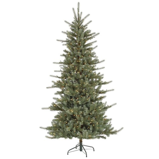 Vickerman Co. Colorado 5.5' Blue Spruce Artificial Christmas Tree with 400 Dura-Lit Clear Lights with Stand