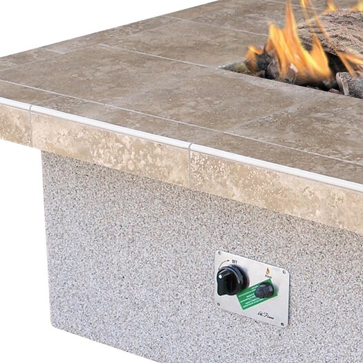 CalFlame Gas Fire Pit