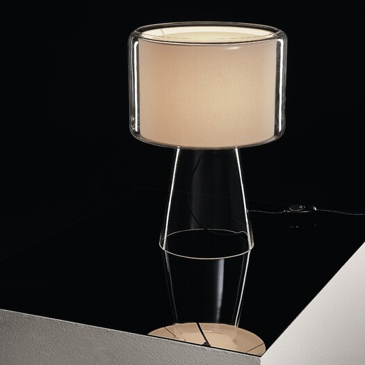 """Marset Mercer 20.7"""" H Table Lamp with Drum Shade"""