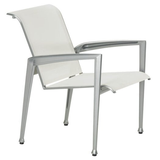 Tropitone Veer Dining Arm Chair