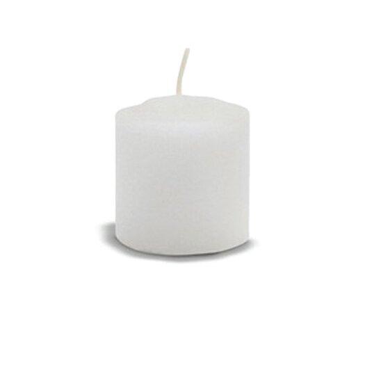 FANCY HEAT Pure Stearin Votive Candles (Set of 72)