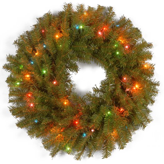"National Tree Co. Norwood 24"" Fir Wreath"