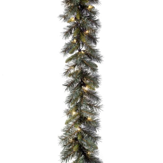 "National Tree Co. Pre-Lit 9' x 10"" Winchester Pine Garland"