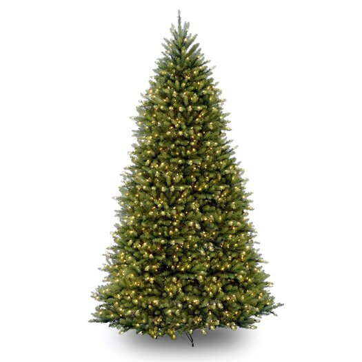 National Tree Co. Dunhill Fir 10' Artificial Christmas Tree with 1200 Clear Lights