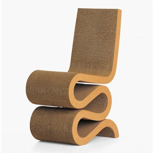 Vitra Frank Gehry Miniature Wiggle Side Chair Sculpture