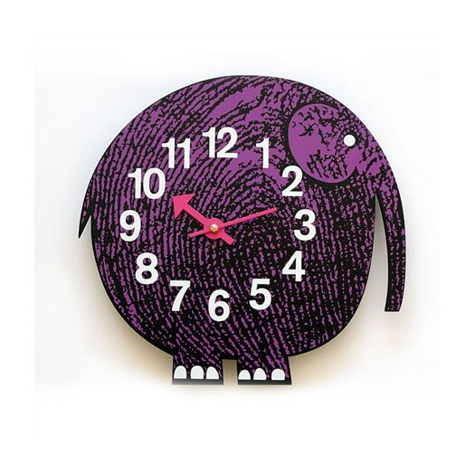 Vitra Design Museum Zoo Timers Wall Elephant Clock