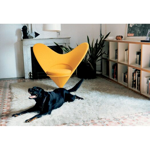 Heart Cone Side Chair by Verner Panton