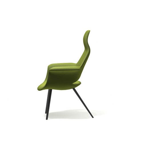 Vitra Organic Highback Arm Chair by Charles Eames and Eero Saarinen