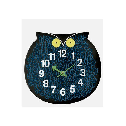 Vitra Design Museum Zoo Timers Wall Owl Clock