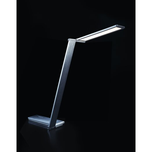 "QisDesign Be Light 27.48"" H Table Lamp with Rectangular Shade"