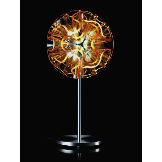 "QisDesign Coral 17.72"" H Table Lamp"