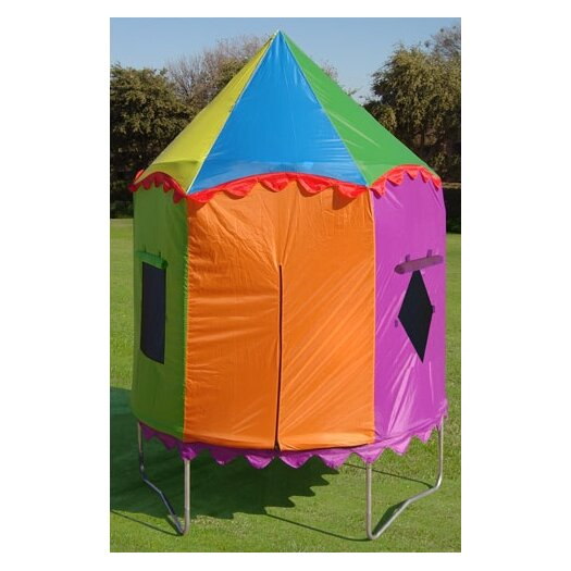 Bazoongi Kids Circus Trampoline Tent