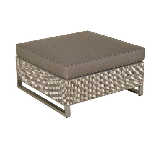 Hegoa Sectional Ottoman with Taupe Cushion