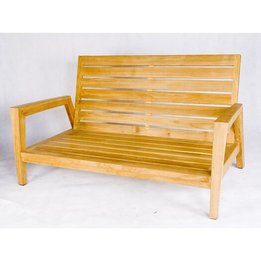 Les Jardins Teak Wood Stafford Garden Bench